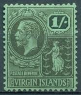 Iles Vierges - 1922/1928 - Yt 60 - Série Courante - * Charnière - Iles Vièrges Britanniques