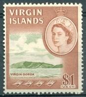 Iles Vierges - 1964 - Yt 154 - Série Courante Elizabeth II - ** - Iles Vièrges Britanniques