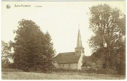 Saint-Fontaine. Eglise. - Clavier