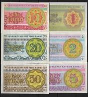 B 60 - KAZAKHSTAN Lot De 6 Billets Diff. état Neuf 1er Choix - Kazakhstan