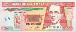 Guatemala 10 Quetzales, P-123c (2.5.2012) - UNC - Joh Enschede Print - Guatemala