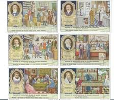 Savants Belges Belgian Scholars (429) X 6 Série Complète Didactique Pub:Liebig 110 X 70 Mm 2 Scans TB - Liebig