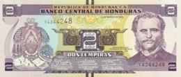 Honduras 2 Lempiras, P-97 (1.3.2012) - UNC - Honduras