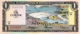 El Salvador 1 Colon, P-125a (11.5.1978/8.6.1978) - UNC - Salvador