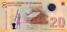 Nicaragua 20 Cordobas, P-202a (2012) - UNC - Nicaragua