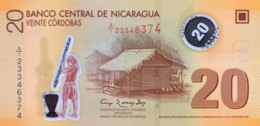 Nicaragua 20 Cordobas, P-202b (2012) - UNC - Nicaragua