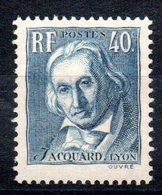 FRANCE - YT N° 295 - Neuf ** - MNH -  Cote: 6,00 € - France
