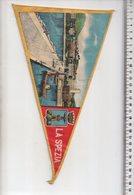 REF ENV : Fanion Flag Pennant Stendardo Touristique Ancien : La Spezia - Obj. 'Souvenir De'