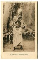 DAHOMEY - Féticheur Du Serpent  - Voir Scan - Dahome