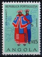 Angola 1957 - Costumi Dell'Angola Costumes Of Angola MH * - Angola