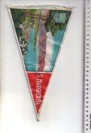 REF ENV : Fanion Flag Pennant Stendardo Touristique Ancien : San Margherita Italie - Obj. 'Souvenir De'