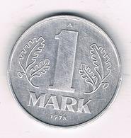 1 MARK 1975 A DDR  DUITSLAND /0931/ - [ 6] 1949-1990 : RDA - Rép. Démo. Allemande
