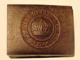 Boucle De Ceinturon Du Royaume De Saxe - 1914-18