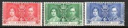 GRANDE BRETAGNE (Ex-colonies) - 1937 - Commémoration Du Couronnement De George VI - CEYLAN - Ceylon (...-1947)