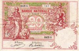 Billets De Banque. Argent. Dollar.Francs Belges.Reichsbantnote.Mil Cruzados Do Brasil. - [ 9] Collections