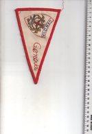 REF ENV : Fanion Flag Pennant Stendardo Touristique Ancien : GENOVA - Obj. 'Souvenir De'
