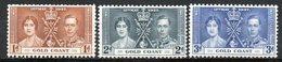 GRANDE BRETAGNE (Ex-colonies) - 1937 - Commémoration Du Couronnement De George VI - COTE DE L'OR - Gold Coast (...-1957)