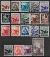 Italia Italy 1945 Democratica 19val Sa N.543-559,561,564 Nuovi MH * - 1946-60: Nuovi
