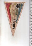REF ENV : Fanion Flag Pennant Stendardo Touristique Ancien : TOURS - Obj. 'Souvenir De'
