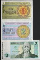 B 62 - KAZAKHSTAN Lot De 3 Billets Diff. état Neuf 1er Choix - Kazakhstan