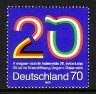 DEUTSCHLAND MI-NR. 2759 ** MITLÄUFER 2009 GRENZÖFFNUNG Zwischen UNGARN Und ÖSTERREICH - Idées Européennes