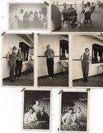 """6 Photos Non Localisée - Sur Bateau """"l'Athos"""" - Fete A Bord ..Colombo ...  (111638) - Personnes Anonymes"""