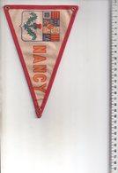 REF ENV : Fanion Flag Pennant Stendardo Touristique Ancien : NANCY - Obj. 'Souvenir De'