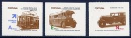 Urban Transport - Portugal 2008 -  Set MNH** - Transports