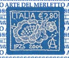 ITALIE 2004 - L'art De La Dentelle -  1 V. - 6. 1946-.. Republic