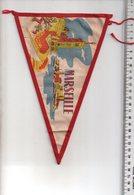 REF ENV : Fanion Flag Pennant Stendardo Touristique Ancien : MARSEILLE - Oggetti 'Ricordo Di'