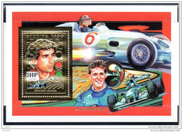 BURKINA FASO  , Michael Schumacher. Pilotes De Courses NEUF. BF OR  3000 Cfa - Burkina Faso (1984-...)