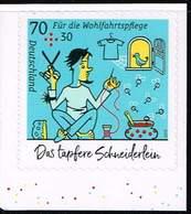 Bund 2019, Michel# 3444 ** Grimms Märchen: Das Tapfere Schneiderlein  Selbstklebend Aus MH 114 - BRD