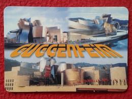 SPAIN CALENDARIO DE BOLSILLO CALENDAR MUSEO GUGGENHEIM MUSEUM BILBAO VIZCAYA PAÍS VASCO EUSKADI EUSKAL HERRIA ESPAGNE - Formato Piccolo : 1991-00