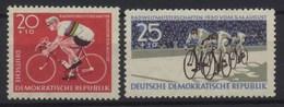 //// 1960 - DDR Yvert 495 / 496** Michel 779 / 780** - [6] République Démocratique