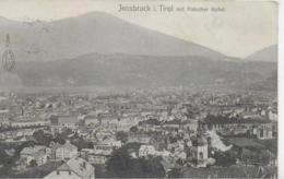 AK 0149  Innsbruck Mit Patscher Kofel - Verlag Warger Ca. Um 1910 - Innsbruck