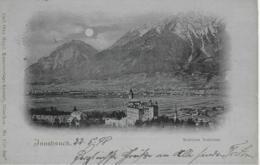 AK 0149  Innsbruck - Schloss Ambras / Mondscheinkarte Um 1898 - Innsbruck