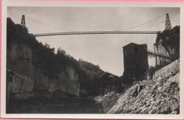 CP N°548 Génissiat  Passerelle Sur Le Rhône Ed. La Cigogne Non-circulée - Génissiat