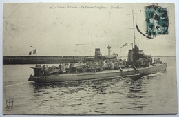 """LE CONTRE-TORPILLEUR """" TROMBLON """" - MARINE MILITAIRE - Warships"""