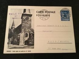 Carte Et Cachet Diekirch - Entiers Postaux