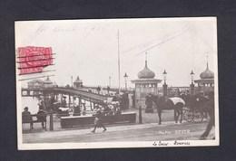 UK Dover The Pier ( Animée Attelage Quai ) - Dover