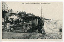 CHATELAILLON Plage Vers L'Hôtel Des Flots - Châtelaillon-Plage
