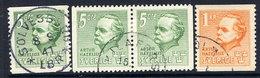 SWEDEN 1941 Hazelius Complete Used.  Michel 286-87A + 286 Dl/Dr - Sweden