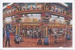Offical Postcard, Mankula Vinayagar Temple, Hinduism, Mythology, Elephant Head, Lion On Pillar, Etc., - Hinduism