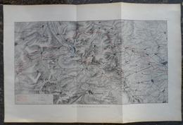 Plan.Carte De La Bataille De Verdun 1916 - Documents