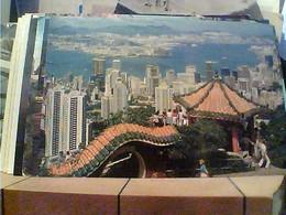 CIN CHINA HONG KONG & KOWLOON FROM THE PEAK N1980 ITALIA HA7693 - Cina (Hong Kong)