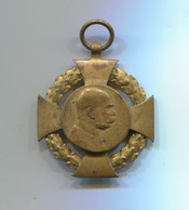 VINTAGE AUSTRIA HUNGARY EMPIRE K.u.K. FRANZ JOSEPH MEDAL 1848 - 1908 - Autriche