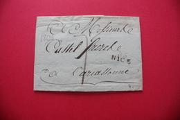 85 NICE Département Conquis MP Linéaire Datée 1809 - Storia Postale