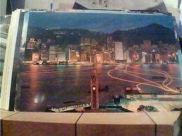 CIN CHINA HONG KONG NIGTH SCENE N1980 ITALIA HA7694 - Cina (Hong Kong)