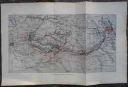Plan.Carte De La Bataille De La Marne 1914 - Documents