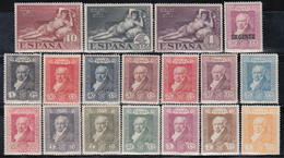 1931   Edifil Nº 499 / 516  /*/, - 1889-1931 Reino: Alfonso XIII